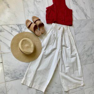 Brand New w/ Tags Madewell Gaucho Pants White
